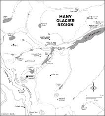 Promised Land State Park Map by Planning Your Trip To Glacier National Park Moon Com Montana