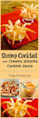 easy shrimp cocktail with creamy sriracha cocktail sauce and more
