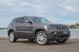 jeep cherokee grey 2017 jeep grand cherokee limited 2017 review carsguide