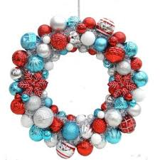 martha stewart 24 in pole shatter resistant ornament wreath
