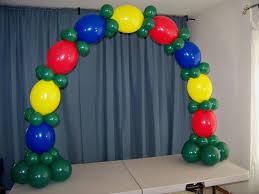 balloon arches how to make a table top balloon arch no helium