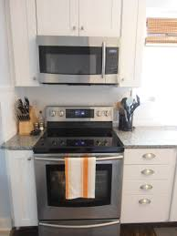how to install an over the range microwave with no cabinet