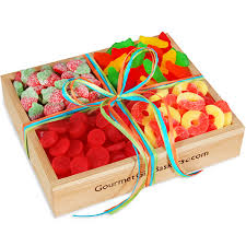 candy gift basket sweet treats for the gummy candy lover in your