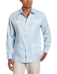 black friday at amazon com cubavera men u0027s long sleeve 100 linen guayabera at amazon men u0027s