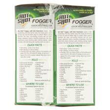 shot fogger with odor neutralizer 2oz 3ct 2pack walmart com