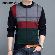warm winter sweaters coodrony mens sweaters 2017 winter 100 warm