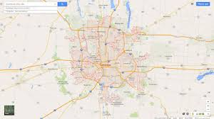 map of columbus columbus ohio map