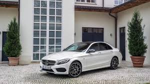mercedes benz 2016 2016 mercedes benz c450 amg 4matic diamond white front hd