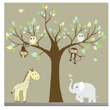 Vinyl Tree Wall Decals For Nursery by Kids Wall Decals Wall Sticker Tree Decaljungle With By Modernwalls