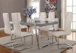 Lacquer Dining Room Sets Modern Grey Lacquer Dining Table