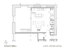 large kitchen floor plans floor plans the union mill