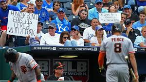 hunter sports fan series hunter pence says he didn t know kansas city was in missouri