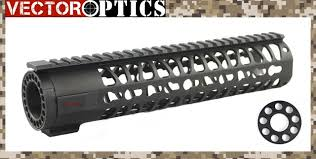 ar 15 light mount tactical ar15 m4 keymod 10 inch rifle length free floating onepiece