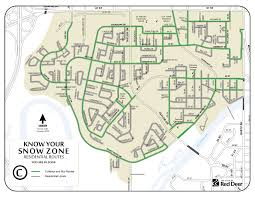 Map Of Riverside Ca Snow Zone Maps The City Of Red Deer