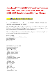 100 honda atv wiring diagram how to rebuild the top end on