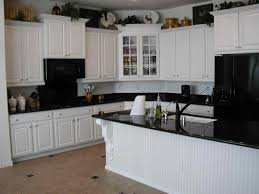 black and white painted kitchen cabinets best home decor