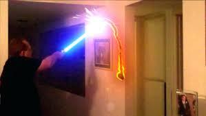 Lightsaber Bedroom Light Lightsaber Wall Lights Colorful Character Base Wars Room