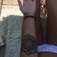 tattoo of a mandala