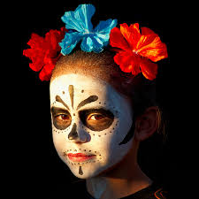 day of the dead costume makeup