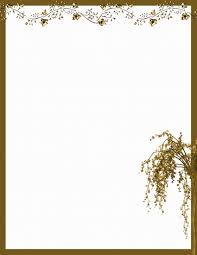free thanksgiving letterhead autumn or fall free stationery com template downloads