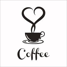 becher k che neue muster caffee becher design wandaufkleber cafe shop tasse