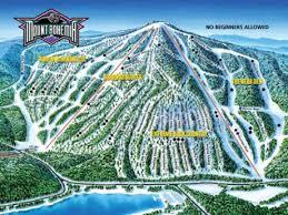 bohemia map trail maps mount bohemia skiing peninsula of