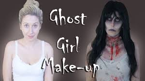 ghost makeup tutorial youtube