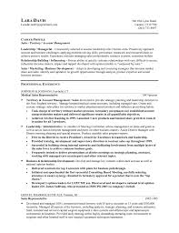 Resume Objectives Examples by Manager Resume Objective Sample Best Business Template