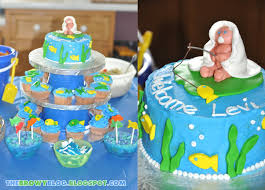 fishing themed baby shower the browy fishy theme baby shower