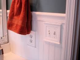 Wainscoting In Bathroom by Bead Board Bathroom Makeover