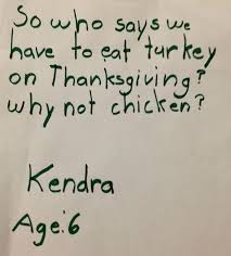 the 5 funniest thanksgiving letters from homeyou