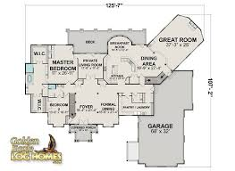 log cabin home floor plans golden eagle log and timber homes floor plan details big sky 9870al