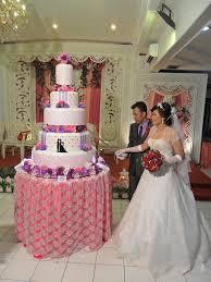 wedding cake tangerang the purple wedding cake wedding wedding cake in tangerang