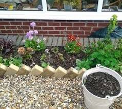concrete garden border edging cheap attractive garden border