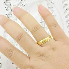 wedding ring model and rings gold rings imitation models starry