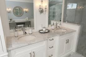 Ontario Bathroom Vanities by Bathroom Vanity With Bianco Carrera Marble Surface Progressive
