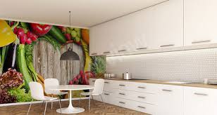 papier pour cuisine une cuisine de bon goût papiers peints 3d appétissants enviro2b