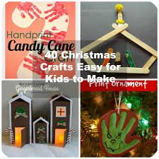 Easy Christmas Crafts For Toddlers To Make - 40 christmas crafts ideas easy for kids to make