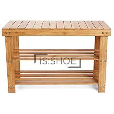 Shoerack Bench Lushea Bamboo Shoe Rack Bench Isshoe Singapore