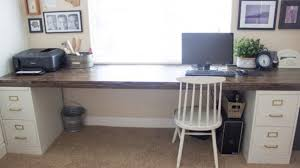 Diy Modern Desk Modern Desk With Cabinets Inside Best Diy File Cabinet Storage