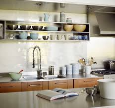 open shelving kitchen ideas kitchen design idea 19 exles of open shelving contemporist