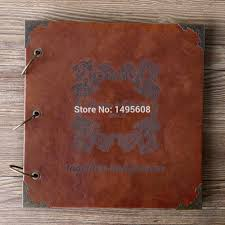 personalized scrapbook 10 inches 12 inchespersonalized wedding photo albumscrapbook