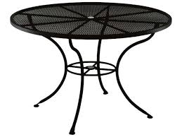 Glass Top Patio Tables Outdoor Glass Top Patio Dining Table White Round Outdoor Dining