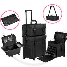 Vanity Case Beauty Studio Salon U0026 Spa Rolling Makeup Cases Ebay