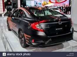 Honda Civic Usa Manhattan New York Usa 23rd Mar 2016 A Honda Civic Sedan Ex L