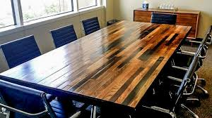 dark wood conference table impressive conference tables stone and cottonwood within reclaimed