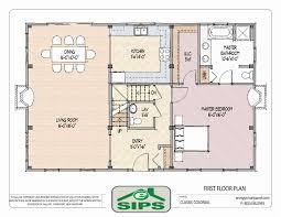 floor plan concept raised colonial house plans unique open concept home designs best