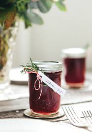 hello may diy strawberry jam favours