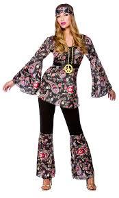 1960s Halloween Costume 1960s Style Peace Lovin Hippie Hippy Fancy Dress Party Halloween