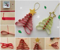 Decorated Christmas Tree Pictures With Ribbon by Creative Ideas U2013 Diy Adorable Ribbon And Beads Christmas Tree